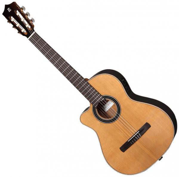 Guitare classique format 4/4 Alhambra Cross-Over CS-1 CW E1 Gaucher - Natural