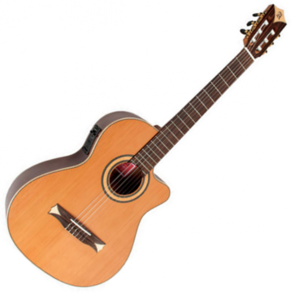 Guitare classique format 4/4 Alhambra Cross-Over CS-1 CW E2 - Natural