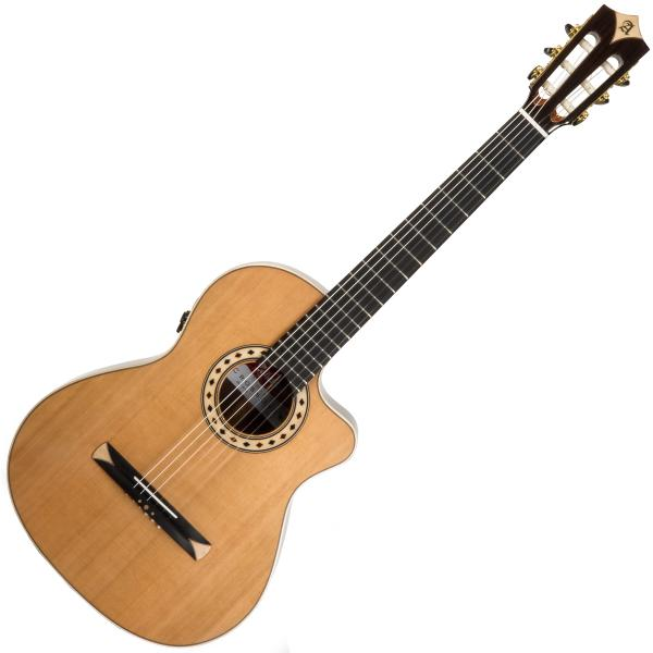 Guitare classique format 4/4 Alhambra Cross-Over CS-3 CW E8 - Natural