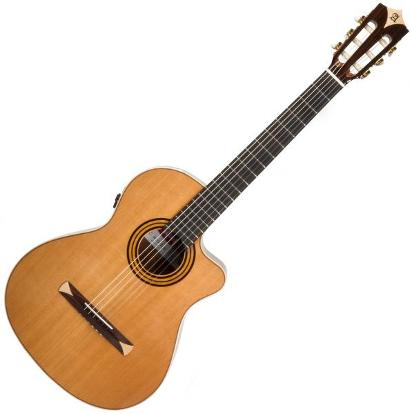 Guitare classique format 4/4 Alhambra Cross-Over CS-1 CW E8 - Natural