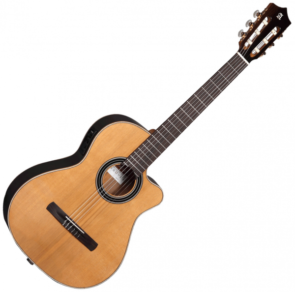 Guitare classique format 4/4 Alhambra Cross-Over CS-LR CW E1 - Natural
