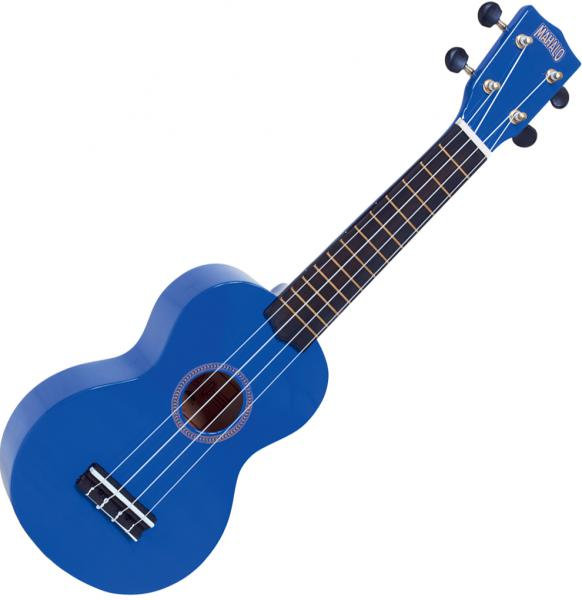 Ukulélé Mahalo MR1 Rainbow Soprano +Bag - Dark blue gloss