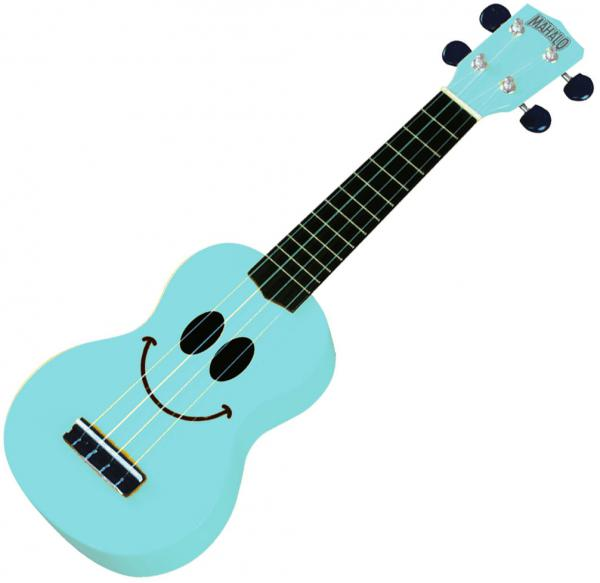 Ukulélé Mahalo U-Smile LBL Soprano - Light blue